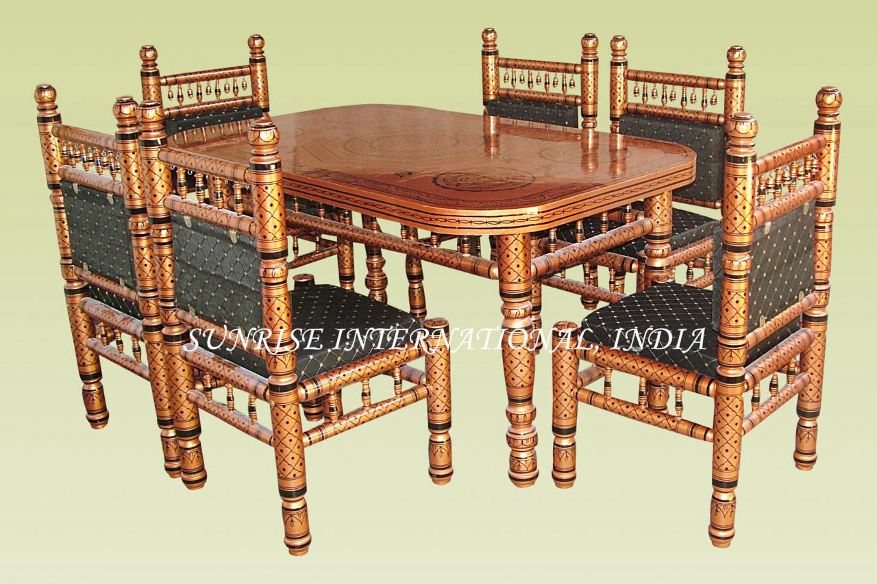 Furniture Manufacturer Solid Wood Dining Table Chair Sets
