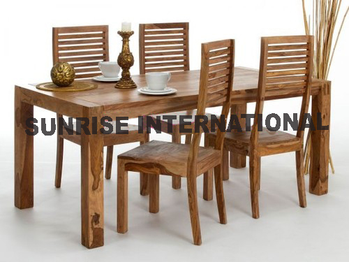 Furniture Manufacturer Solid Wood Dining Table Chair