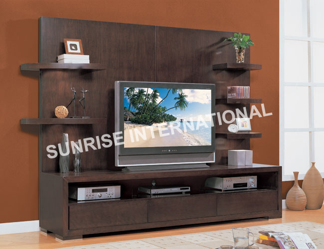 Tv Stand Designs Kerala : Sunrise international wooden tv cabinets cd dvd racks