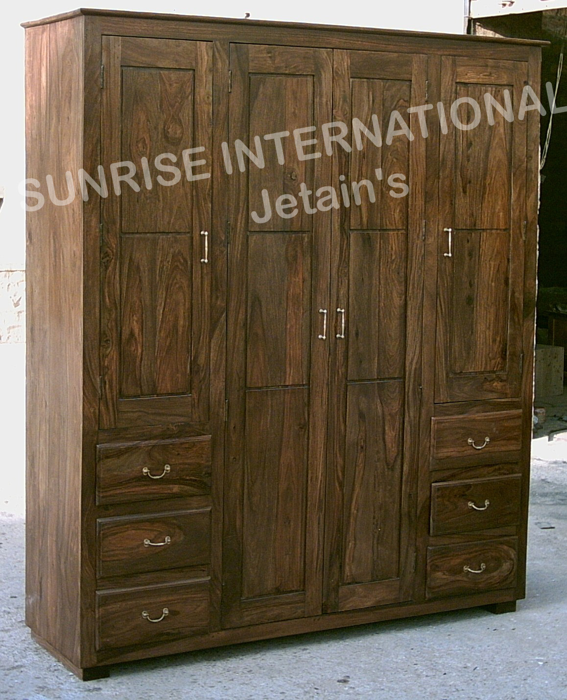 Sunrise international wooden almirah wardrobes Pictures of wooden almirahs