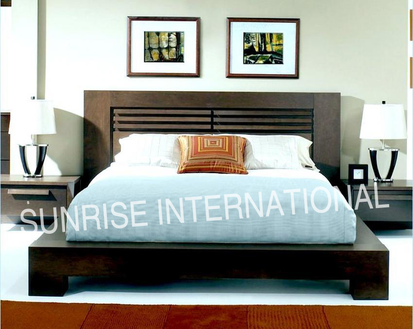 Sunrise international wooden beds bedroom sets - Bed desine double bed ...