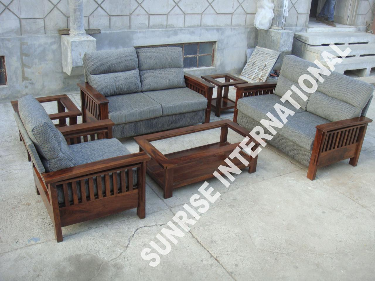 Wood Sofa Sets ~ Sunrise international wooden sofa sets l shade set